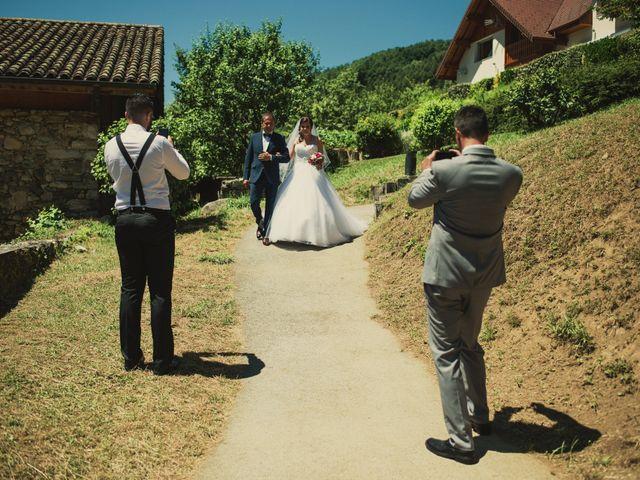 Le mariage de Romain et Justine à Les Adrets, Isère 26