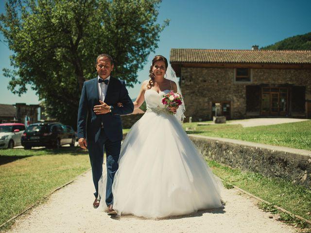 Le mariage de Romain et Justine à Les Adrets, Isère 29