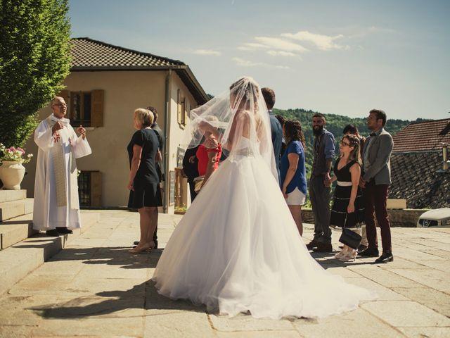 Le mariage de Romain et Justine à Les Adrets, Isère 43