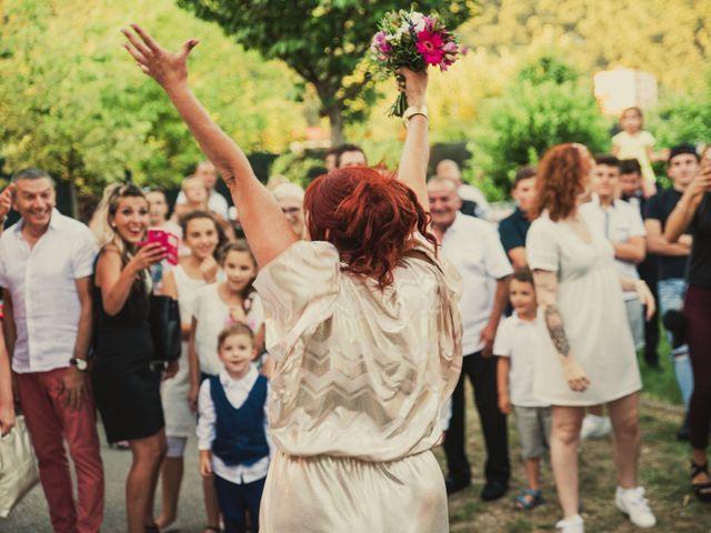 Le mariage de Romain et Justine à Les Adrets, Isère 71