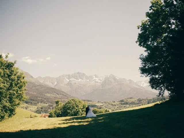 Le mariage de Romain et Justine à Les Adrets, Isère 92