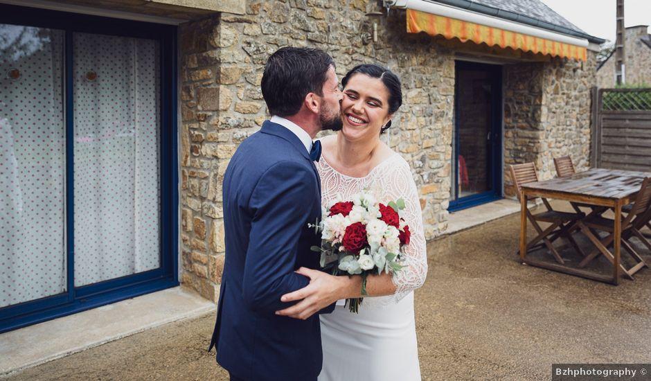 Le mariage de Julien et Sarah à Loperhet, Finistère
