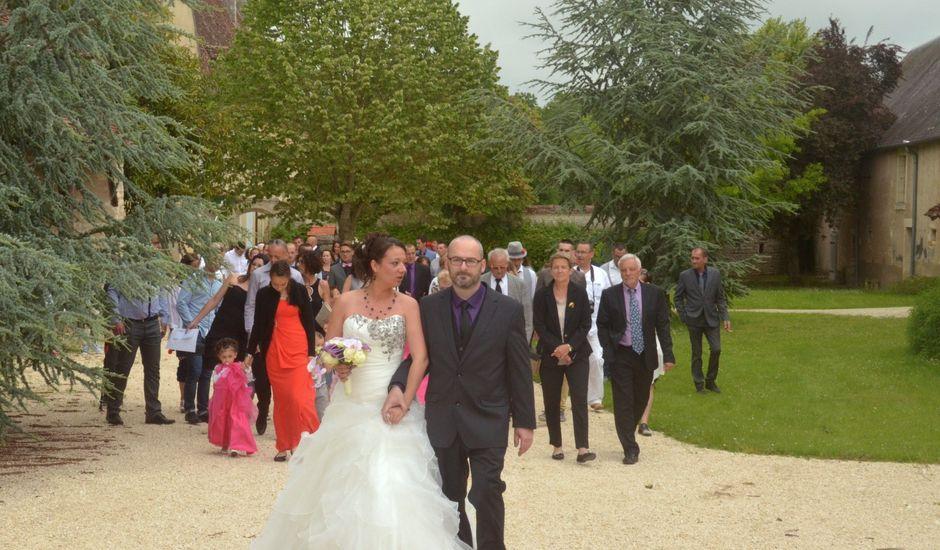 Le mariage de Jonathan et Aurélia à Plaimpied-Givaudins, Cher
