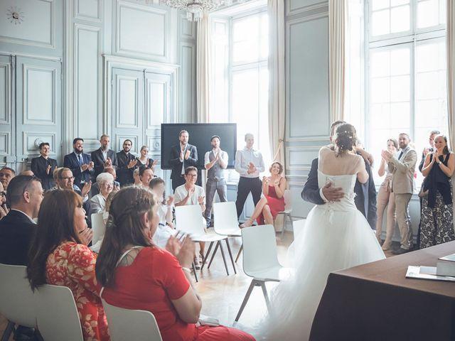 Le mariage de Julien et Noémie à Metz, Moselle 1