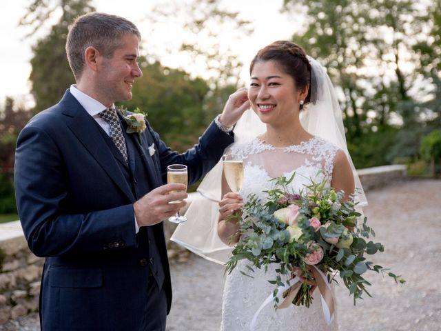 Le mariage de Rodolphe et Akiko à Rigny, Haute-Saône 35