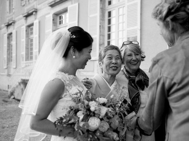 Le mariage de Rodolphe et Akiko à Rigny, Haute-Saône 40