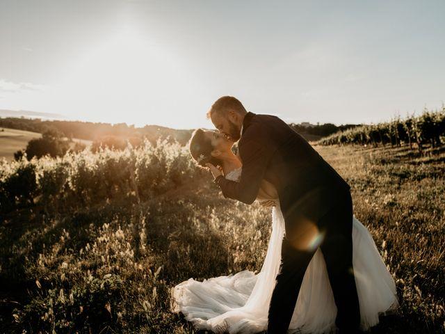 Le mariage de Mathieu et Virginie à Senouillac, Tarn 1