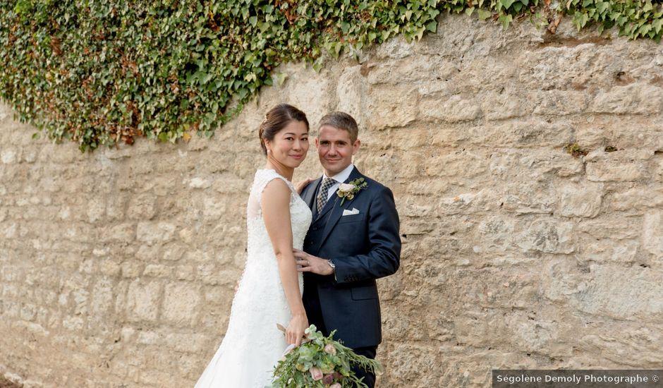 Le mariage de Rodolphe et Akiko à Rigny, Haute-Saône
