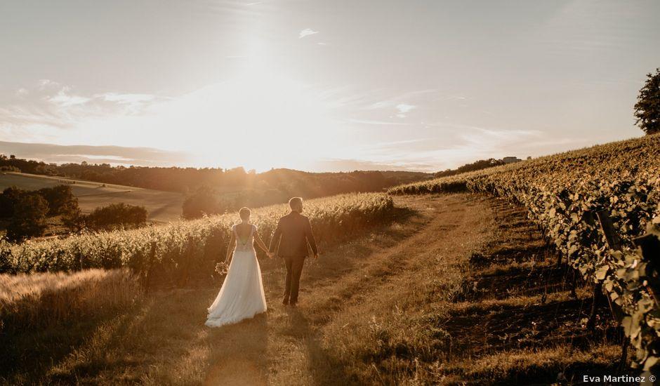 Le mariage de Mathieu et Virginie à Senouillac, Tarn