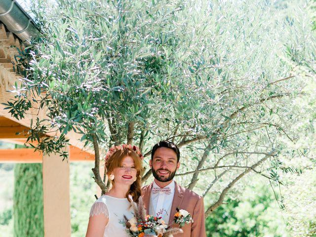 Le mariage de Antonin et Charline à Nyons, Drôme 41