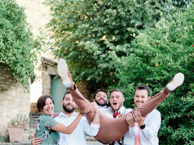 Le mariage de Antonin et Charline à Nyons, Drôme 73