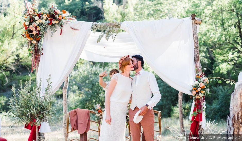 Le mariage de Antonin et Charline à Nyons, Drôme