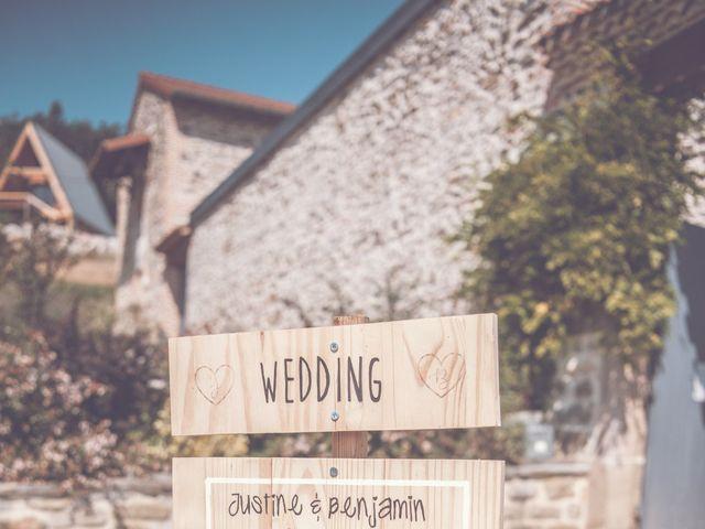 Le mariage de Benjamin et Justine à La Tour-en-Jarez, Loire 6