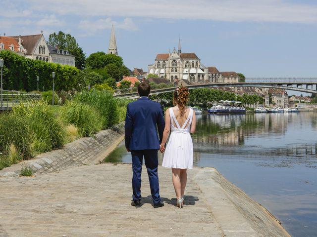 Le mariage de Florian et Christine à Auxerre, Yonne 1