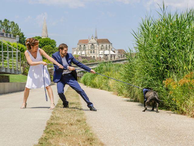 Le mariage de Florian et Christine à Auxerre, Yonne 3