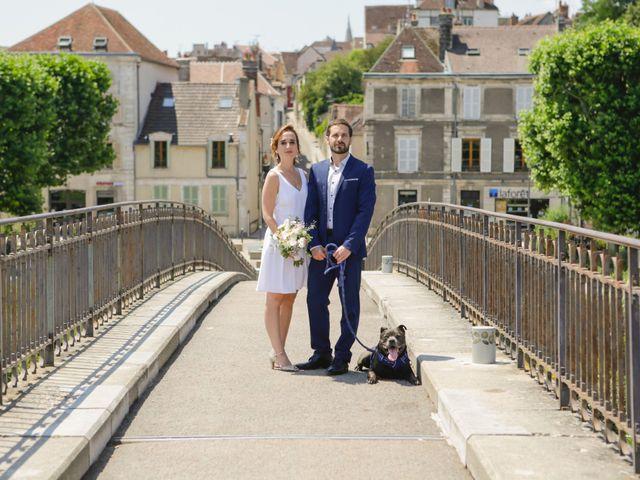 Le mariage de Florian et Christine à Auxerre, Yonne 4