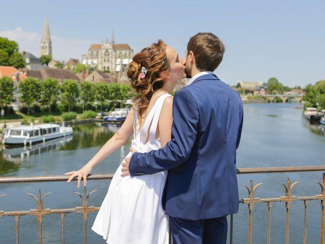 Le mariage de Florian et Christine à Auxerre, Yonne 5