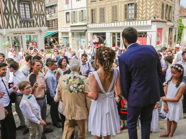 Le mariage de Florian et Christine à Auxerre, Yonne 20