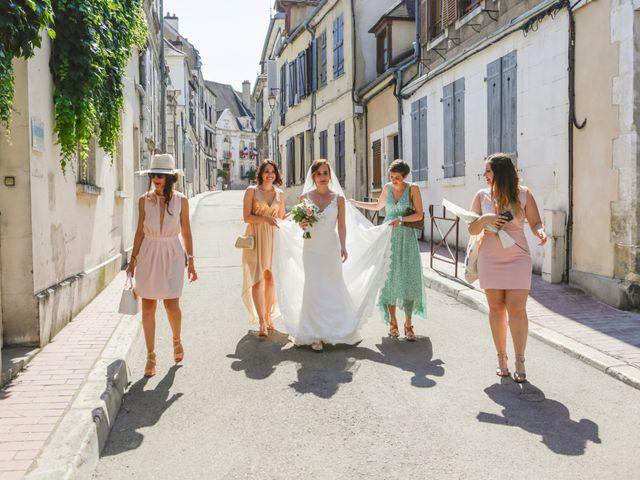 Le mariage de Florian et Christine à Auxerre, Yonne 25