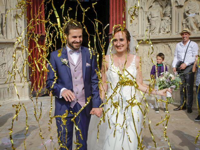 Le mariage de Florian et Christine à Auxerre, Yonne 34
