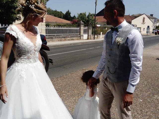Le mariage de Guéric et Manon à Gauriac, Gironde 1