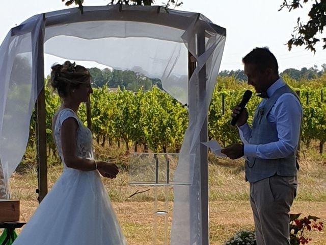 Le mariage de Guéric et Manon à Gauriac, Gironde 12