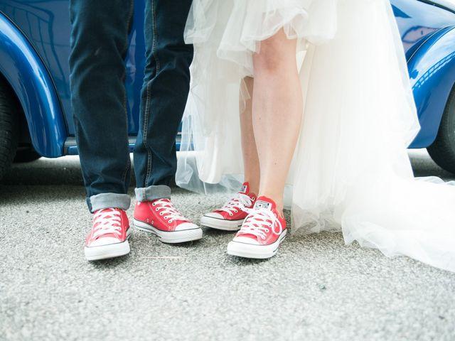 Le mariage de Maxime et Gaëlle à Chazelles-sur-Lyon, Loire 38