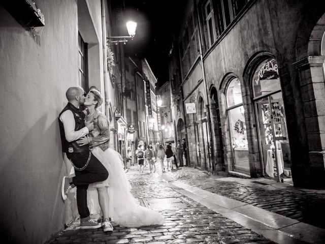 Le mariage de Maxime et Gaëlle à Chazelles-sur-Lyon, Loire 44