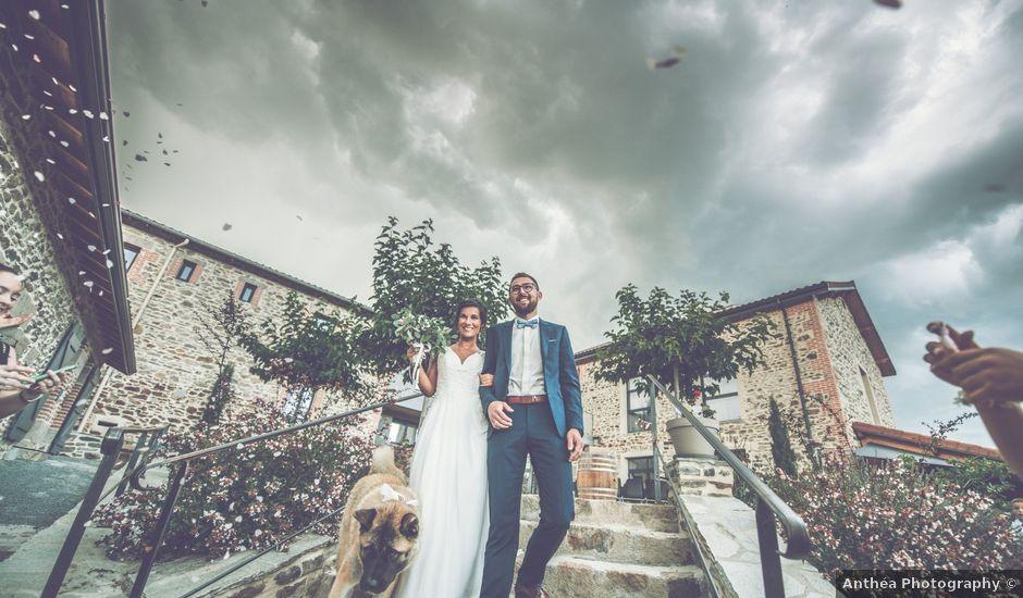Le mariage de Benjamin et Justine à La Tour-en-Jarez, Loire