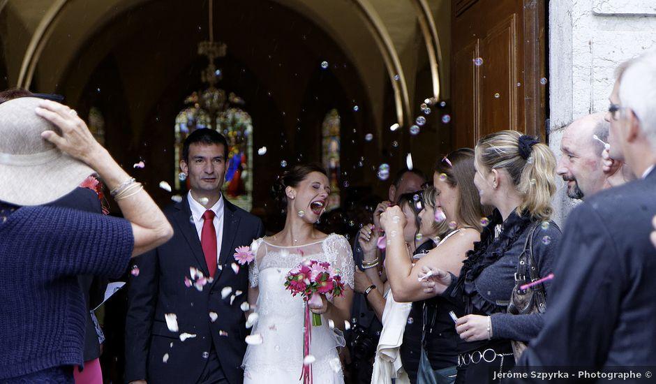 Le mariage de Thomas et Amandine à Les Rousses, Jura