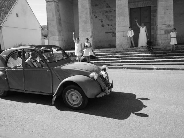Le mariage de Christian et Adeline  à Rouvray-Saint-Florentin, Eure-et-Loir 13