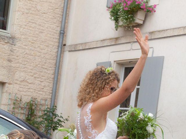 Le mariage de David et Delphine à François, Deux-Sèvres 10