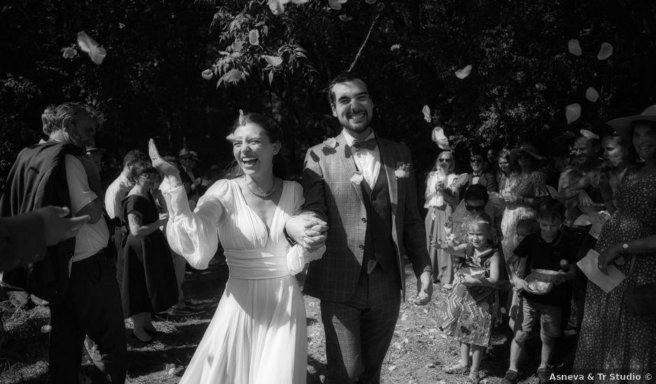 Le mariage de Charles et Marion à Agonac, Dordogne