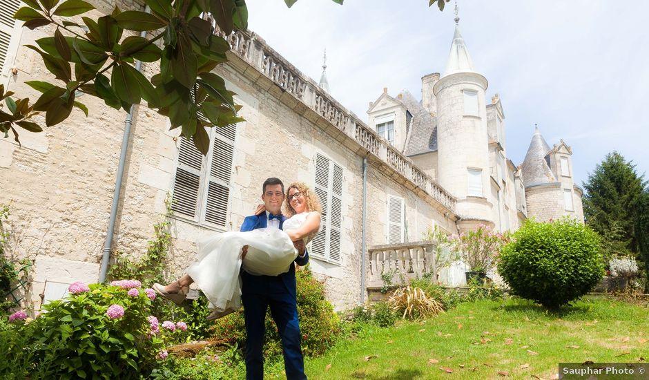 Le mariage de David et Delphine à François, Deux-Sèvres