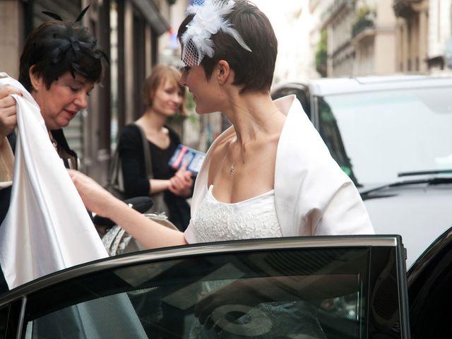 Le mariage de Karim et Pélagie à Paris, Paris 7
