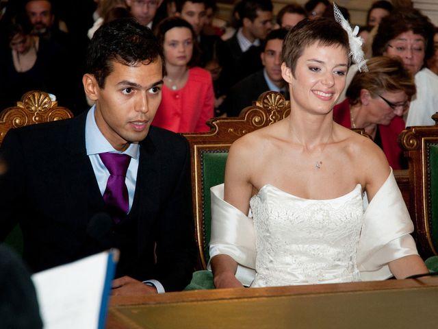 Le mariage de Karim et Pélagie à Paris, Paris 9