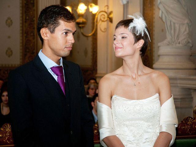 Le mariage de Karim et Pélagie à Paris, Paris 10