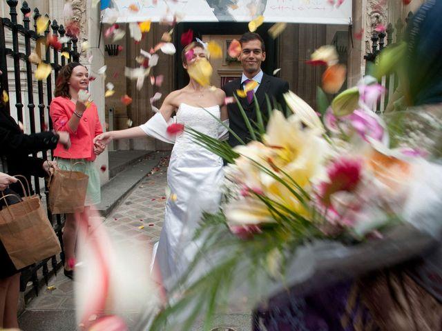 Le mariage de Karim et Pélagie à Paris, Paris 11