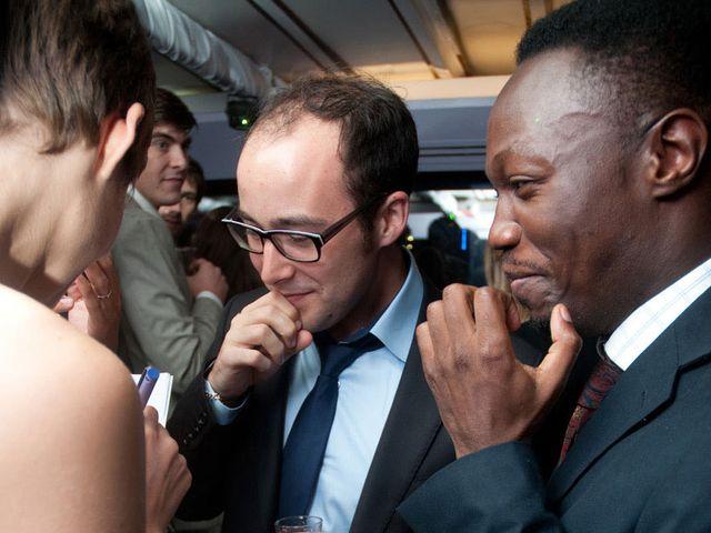 Le mariage de Karim et Pélagie à Paris, Paris 17