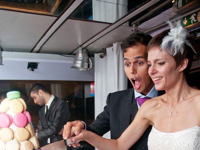 Le mariage de Karim et Pélagie à Paris, Paris 20