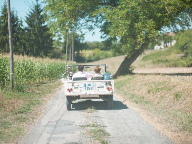 Le mariage de Franck et Anais à Bourdeilles, Dordogne 13