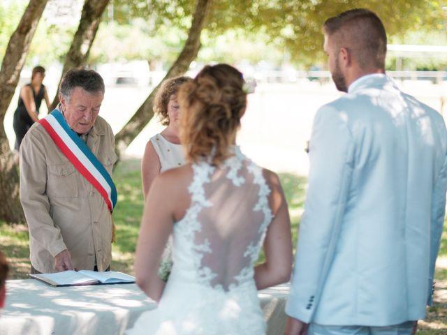 Le mariage de Franck et Anais à Bourdeilles, Dordogne 15