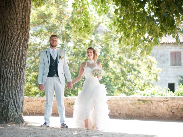 Le mariage de Franck et Anais à Bourdeilles, Dordogne 20