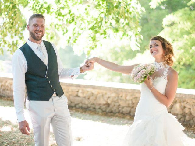 Le mariage de Franck et Anais à Bourdeilles, Dordogne 28
