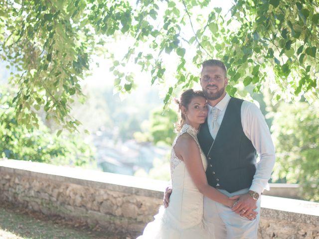 Le mariage de Franck et Anais à Bourdeilles, Dordogne 30