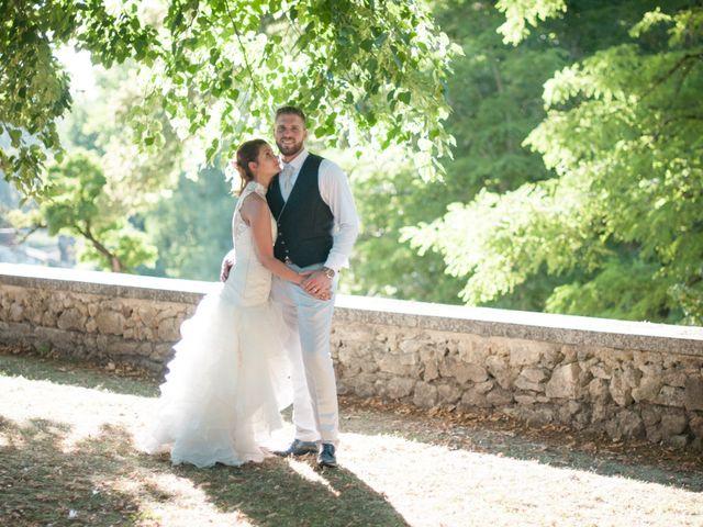 Le mariage de Franck et Anais à Bourdeilles, Dordogne 31