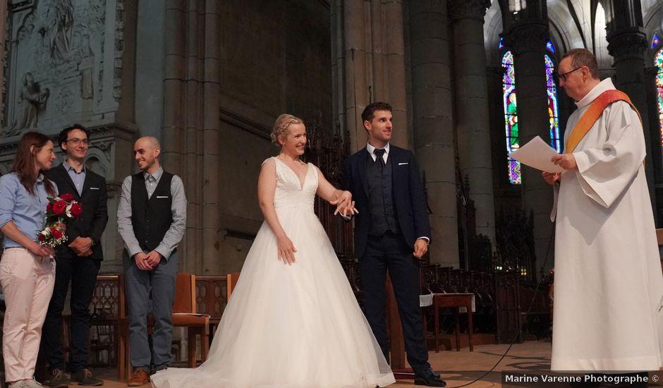 Le mariage de Manuel et Pauline à Firminy, Loire
