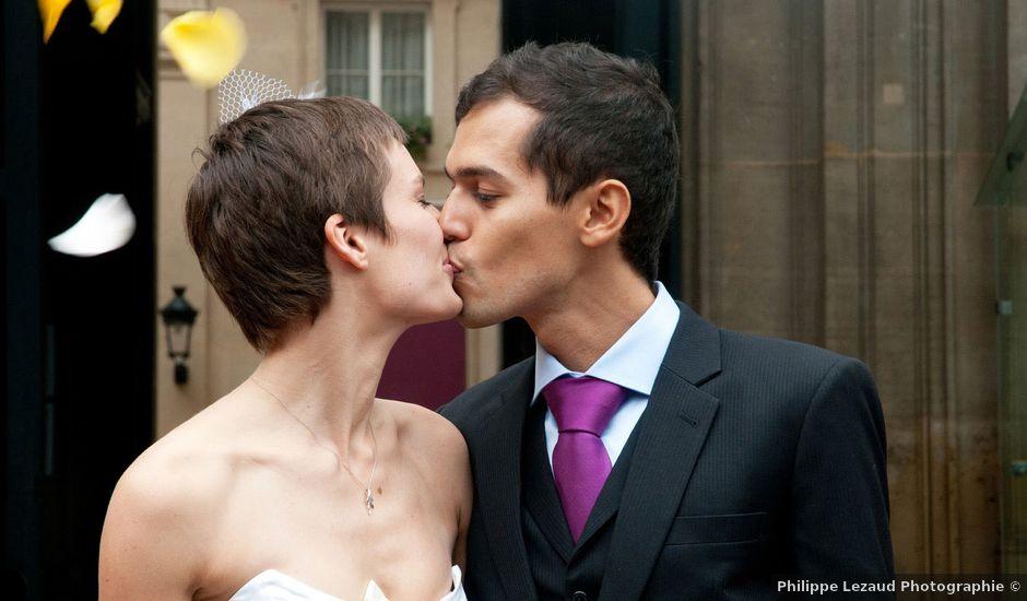 Le mariage de Karim et Pélagie à Paris, Paris