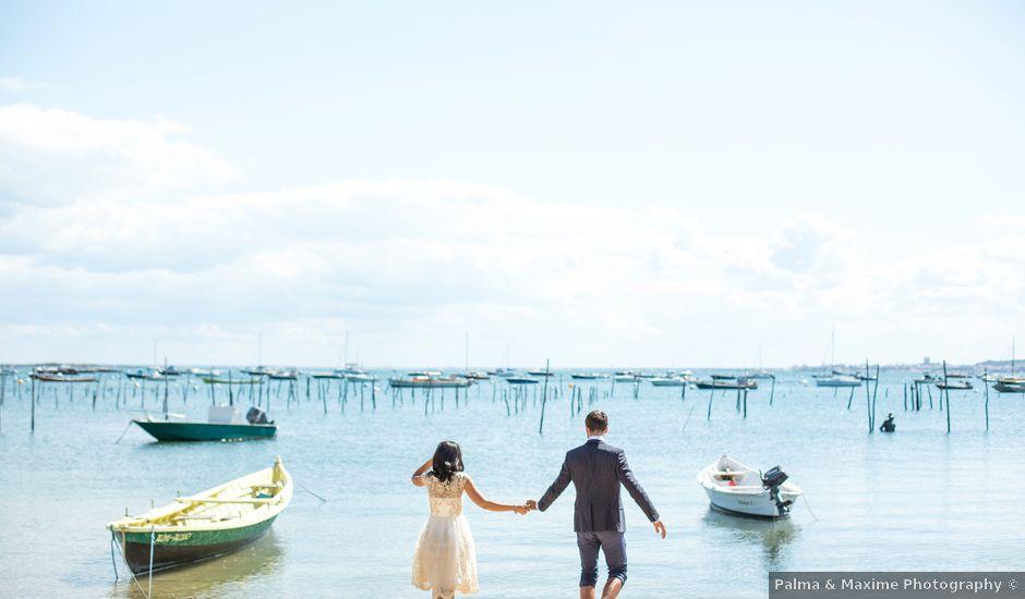 Le mariage de François et Hadia à Lège-Cap-Ferret, Gironde