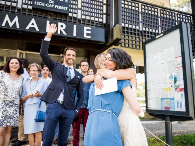 Le mariage de François et Hadia à Lège-Cap-Ferret, Gironde 21